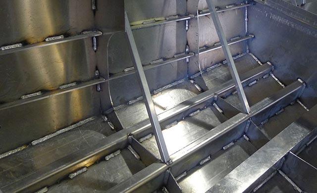 Aluminum Welds on Jet Boat