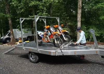 Needmore Trailers carry all your off-road Bikes